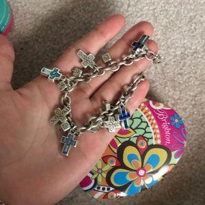 Brighton's Cross Charm Bracelet